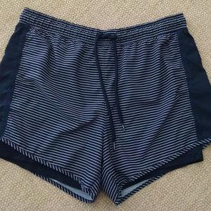 Tangerine X Large Nylon Work Out Shorts